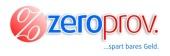 zeroprov Logo mit Claim